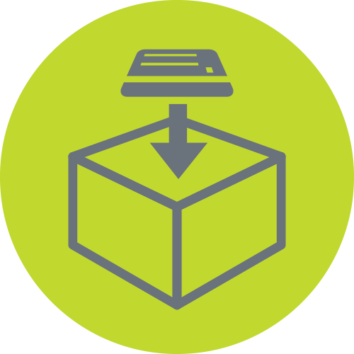 Print and Apply Labeling Icon
